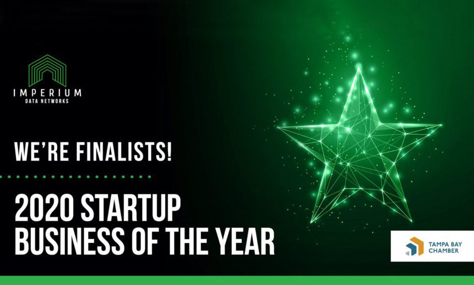 Imperium Data Networks 2020 Startup Business of the Year Awards