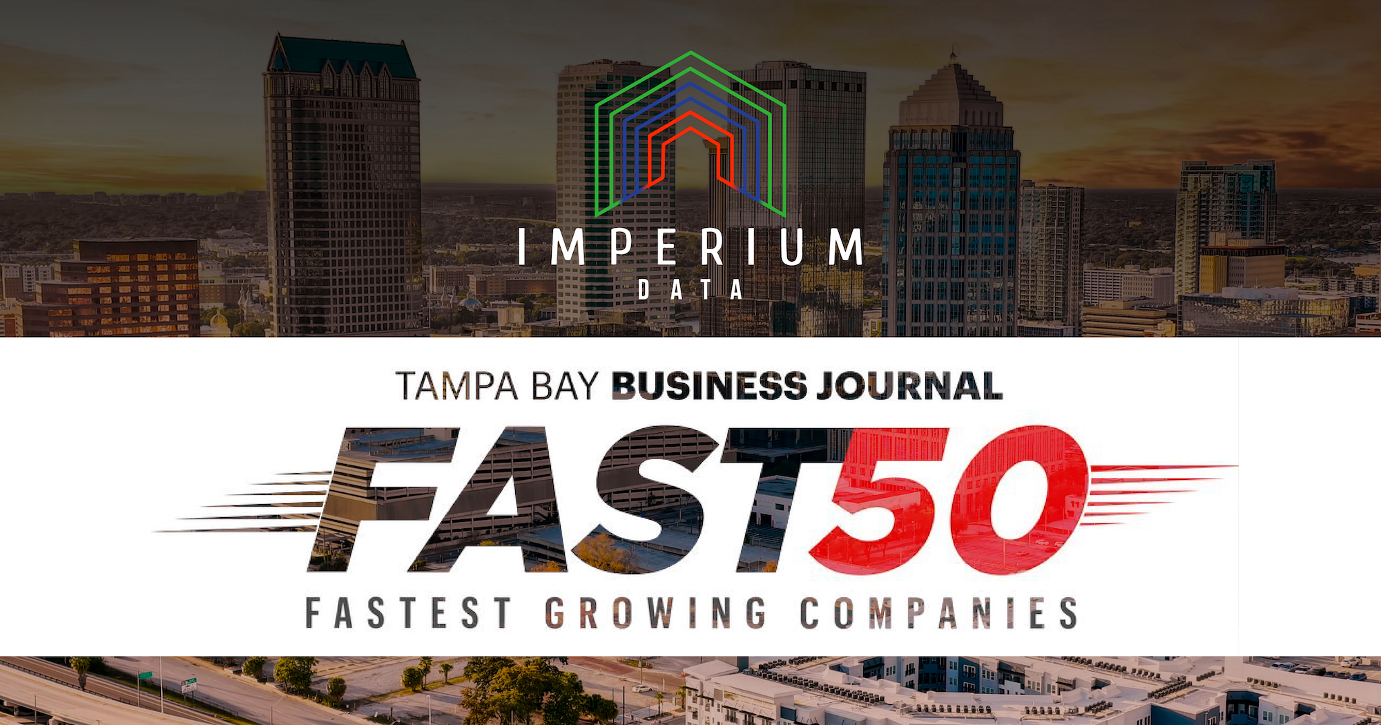 Imperium Data Recognized in Tampa Bay Business Journal's Fast 50